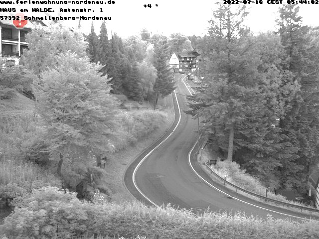 Nordenau Skigebiet - Webcam 1
