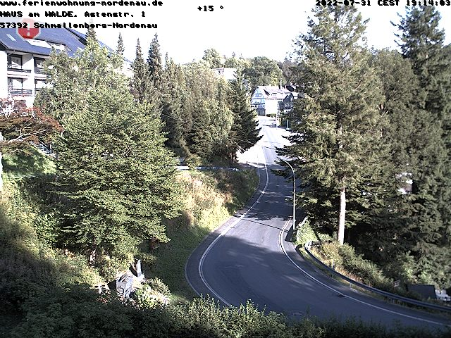 Nordenau Skigebiet - Webcam 1